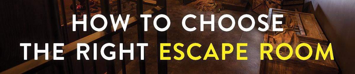 Choose the right escape room header