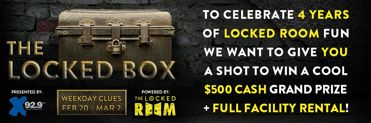 Locked Room Locked Box Contest Header Image