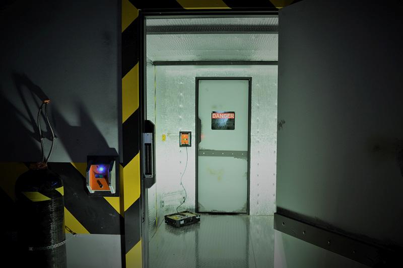 Locked Room Hangar 403 Room Picture