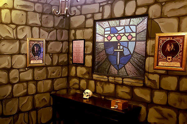 The Quest for Excalibur escape room at the Northeast Calgary Locked Room Location.